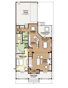 Wilmington NC House Plan