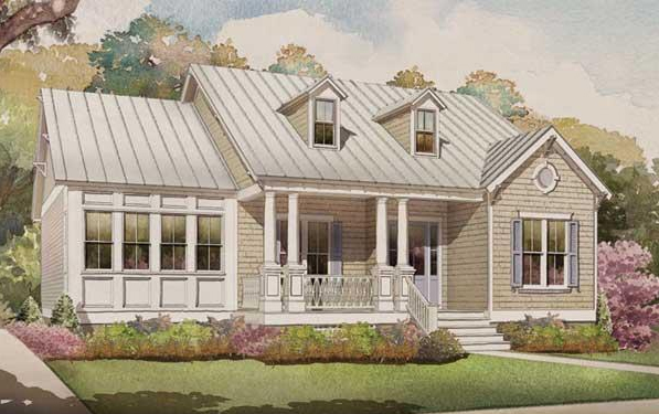 Wilmington Coastal House Plan